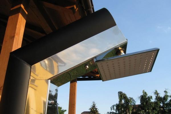 Solární sprchy