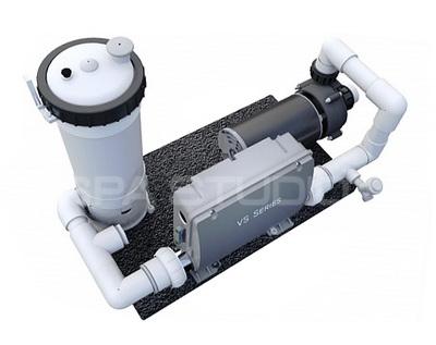 Filtrační systém vířivé vany